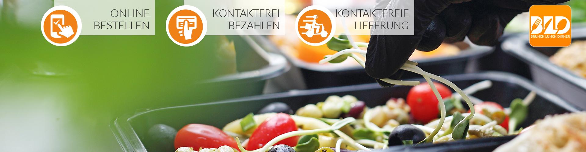 Online Bestellsystem für Lieferservice, Speisekarte mit Bestellmöglichkeit und Online-Bezahlung.
